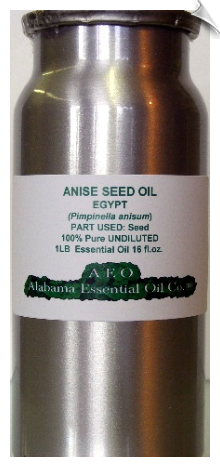 Anise Seed Essential Oil, Egypt