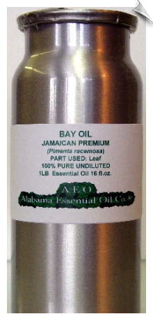 Bay Essential Oil, Jamaican Premium