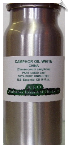 Camphor Essential Oil, White | Alabama Essential Oil Company