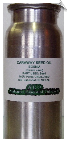 Caraway Seed Essential Oil, Bosnia (Rectified)