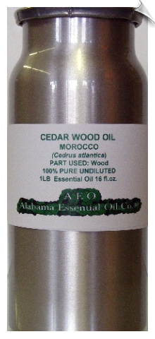Cedar Wood Essential Oil, Atlas, Morocco