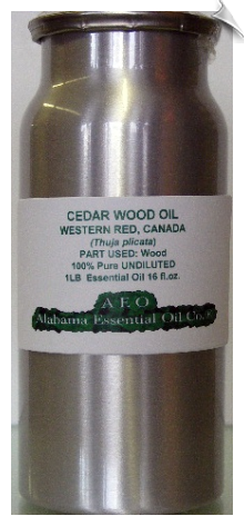 Cedar Wood Essential Oil, Western Red, Canada