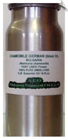 Chamomile German (blue) Essential Oil | Alabama Essential Oil Company
