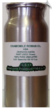 Chamomile Roman Essential Oil | Alabama Essential Oil Company