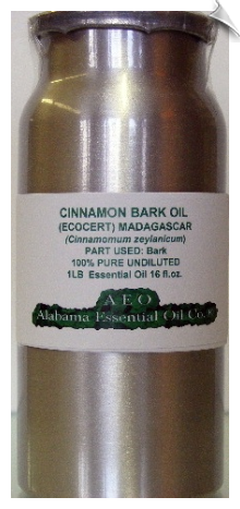 Cinnamon Bark Essential Oil | Alabama Essential Oil Company