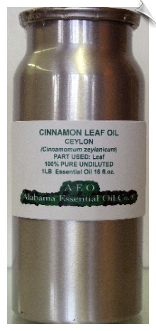 Cinnamon Leaf Essential Oil | Alabama Essential Oil Company