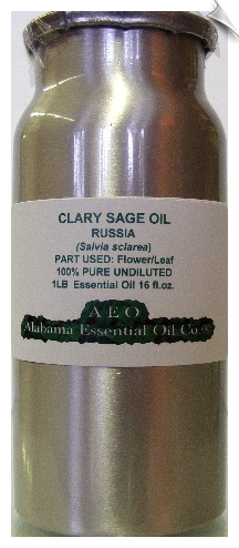 Clary Sage Essential Oil, Russia