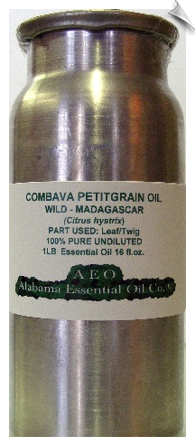 Combava Petitgrain Essential Oil Wild | Alabama Essential Oil Company