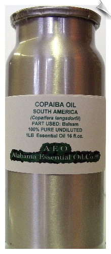 Copaiba Balsam Essential Oil | Alabama Essential Oil Company