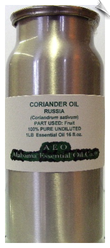 Coriander Essential Oil | Alabama Essential Oil Company