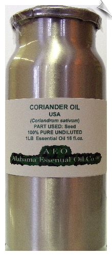 Coriander Essential Oil USA | Alabama Essential Oil Company