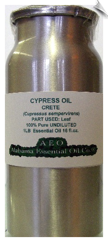 Cypress Essential Oil Crete | Alabama Essential Oil Company