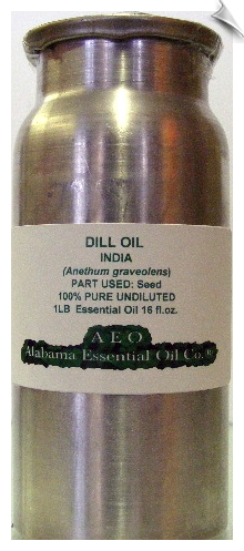 Dill Essential Oil India | Alabama Essential Oil Company