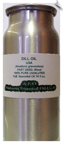 Dill Essential Oil, USA