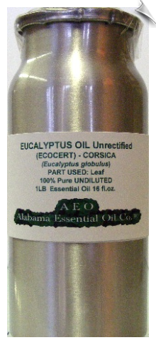 Eucalyptus Essential Oil Corsica | Alabama Essential Oil Company