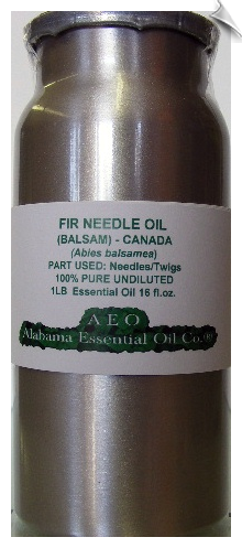 Fir Needle Essential Oil Balsam | Alabama Essential Oil Company