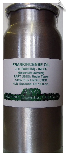 Frankincense Essential Oil India | Alabama Essential Oil Company