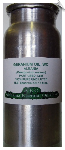 Geranium Rose Essential Oil Albania | Alabama Essential Oil Company