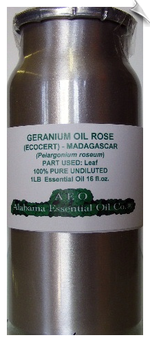 Geranium Rose Essential Oil Madagascar | Alabama Essential Oil Company