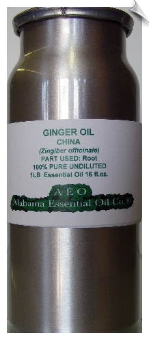 Ginger Essential Oil | Alabama Essential Oil Company