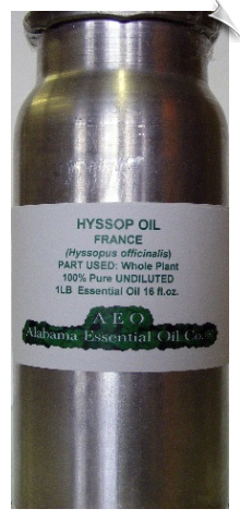 Hyssop Essential Oil, France