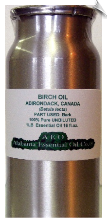 Birch Essential Oil, Adirondack - USA