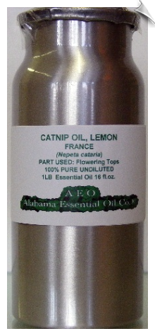 Catnip Essential Oil, Lemon | Alabama Essential Oil Company