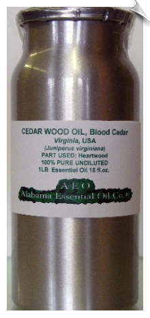Cedar Wood Essential Oil | Alabama Essential Oil Company