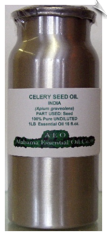 Celery Seed Essential Oil | Alabama Essential Oil Company