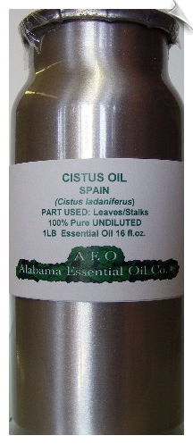Cistus Essential Oil | Alabama Essential Oil Company