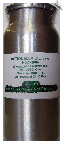 Citronella Essential Oil | Alabama Essential Oil Company