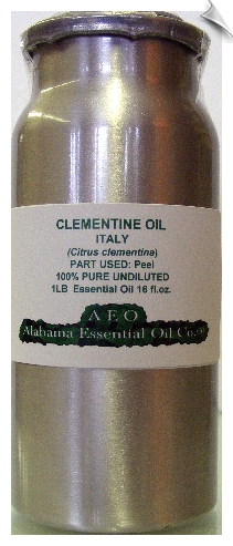 Clementine Essential Oil, Italy | Alabama Essential Oils