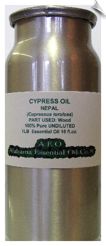 Cypress Wood Essential Oil, Nepal