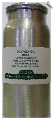 Davana Essential Oil | Alabama Essential Oil Company