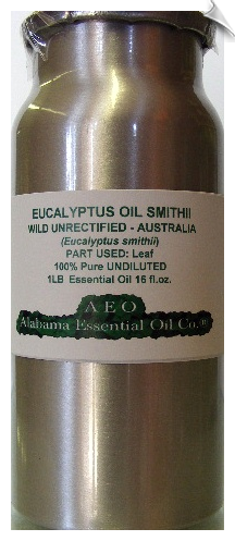 Eucalyptus Smithii Essential Oil Wild Unrectified | Alabama Essential Oils