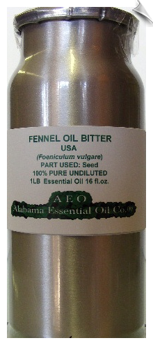 Fennel Essential Oil, Bitter | Alabama Essential Oils