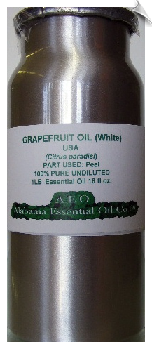 Grapefruit Essential Oil White USA | Alabama Essential Oils