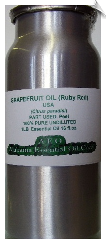 Grapefruit Essential Oil Ruby Red USA | Alabama Essential Oils