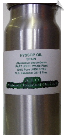 Hyssop Essential Oil Spain | Alabama Essential Oil Company