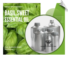 Basil Essential Oil, sweet ct. linalool | Alabama Essential Oils